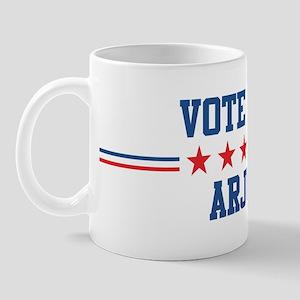 Vote for ARJUN Mug