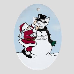 Snow Devon Christmas Ornament
