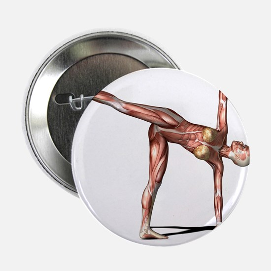 Female muscles, artwork - 2.25' Button (10 pack)