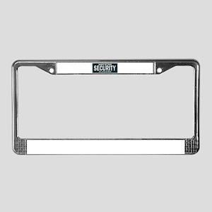 Alabama Security License Plate Frame