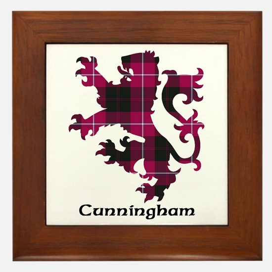Lion - Cunningham Framed Tile