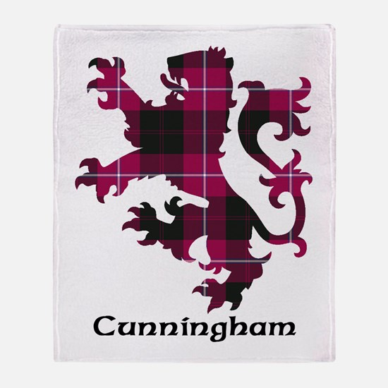 Lion - Cunningham Throw Blanket