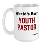World's Best Youth Pastor Large Mug