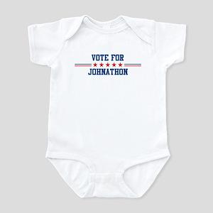 Vote for JOHNATHON Infant Bodysuit