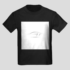 R8 Outline Kids Dark T-Shirt
