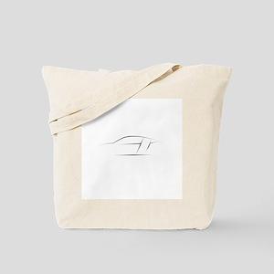 R8 Outline Tote Bag