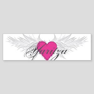Yaritza-angel-wings Sticker (Bumper)