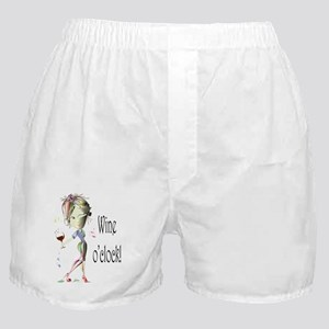 Wine oclock! Boxer Shorts