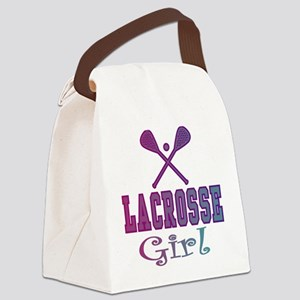 Lacrosse Teen/Girls Canvas Lunch Bag