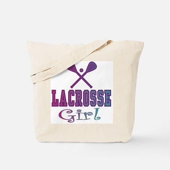 Lacrosse Teen/Girls Tote Bag