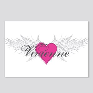 Vivienne-angel-wings Postcards (Package of 8)
