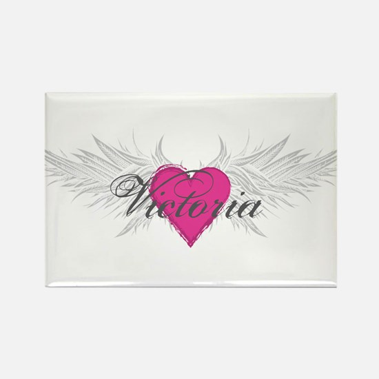 Victoria-angel-wings.png Rectangle Magnet