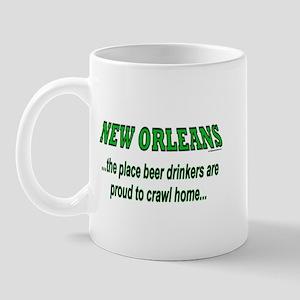 New Orleans Beer Drinkers<br> Mug