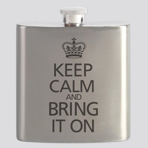 KEEP CALM AND BRING IT ON Flask