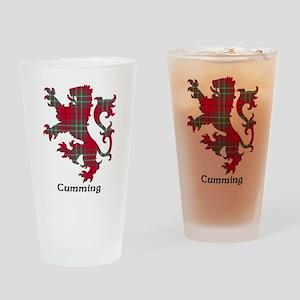 Lion - Cumming Drinking Glass