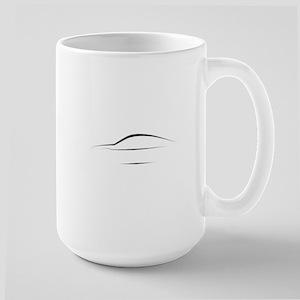 TT Outline Large Mug