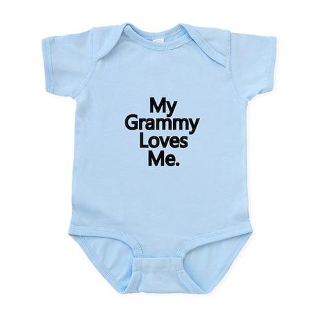 My Grammy Loves Me. Infant Bodysuit