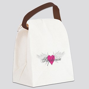 Stephanie-angel-wings Canvas Lunch Bag