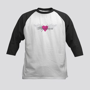 Stephanie-angel-wings Kids Baseball Jersey
