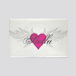 Stella-angel-wings Rectangle Magnet