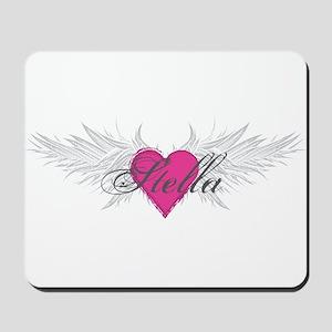 Stella-angel-wings Mousepad