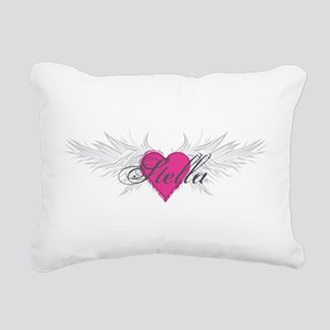 Stella-angel-wings Rectangular Canvas Pillow