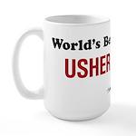 World's Best Usher Large Mug
