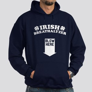 Funny! IRISH Breathalyzer! Hoodie (dark)