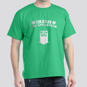Funny! IRISH Breathalyzer! Dark T-Shirt