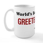 World's Best Greeter Large Mug