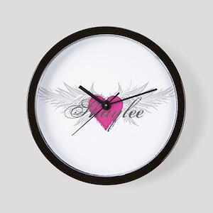 Shaylee-angel-wings Wall Clock