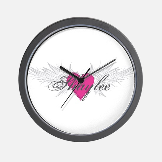 Shaylee-angel-wings.png Wall Clock