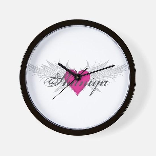 Shaniya-angel-wings.png Wall Clock
