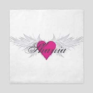 Shania-angel-wings Queen Duvet