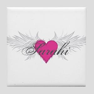 Sarahi-angel-wings Tile Coaster