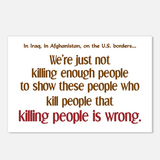 Killing Enough? Postcards (Package of 8)