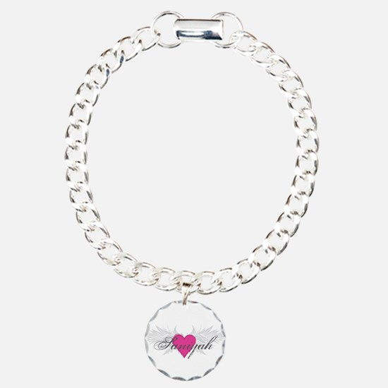 Saniyah-angel-wings.png Charm Bracelet, One Charm