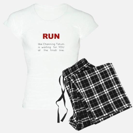 Running for Channing Tatum Pajamas