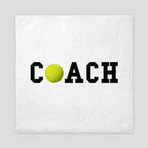 Tennis Coach Queen Duvet