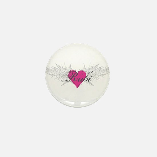 Rubi-angel-wings.png Mini Button