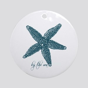 By the Sea Starfish Ornament (Round)