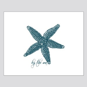 By the Sea Starfish Small Poster