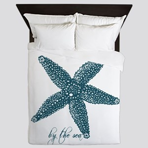 By the Sea Starfish Queen Duvet