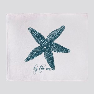 By the Sea Starfish Throw Blanket