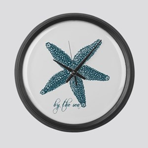 By the Sea Starfish Large Wall Clock