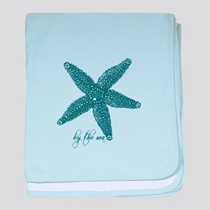 By the Sea Starfish baby blanket