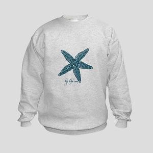 By the Sea Starfish Kids Sweatshirt