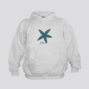 By the Sea Starfish Kids Hoodie