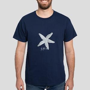 By the Sea Starfish Dark T-Shirt