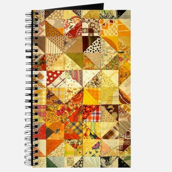 Fun Patchwork Quilt Journal